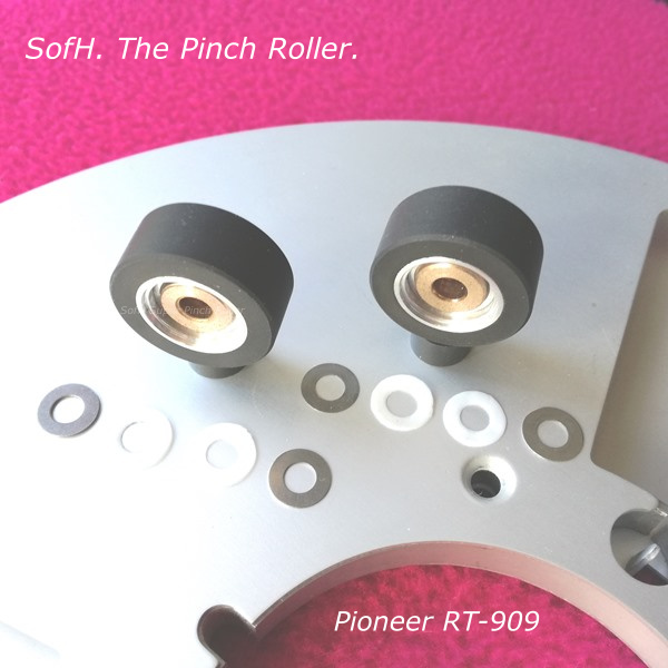 909 Classic pinch rollers