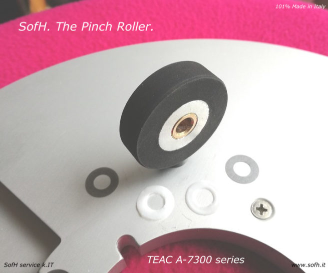 TEAC A-7300 series Pinch Roller