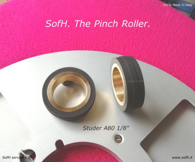 """Studer A80 1/8"""" Pinch Roller"""