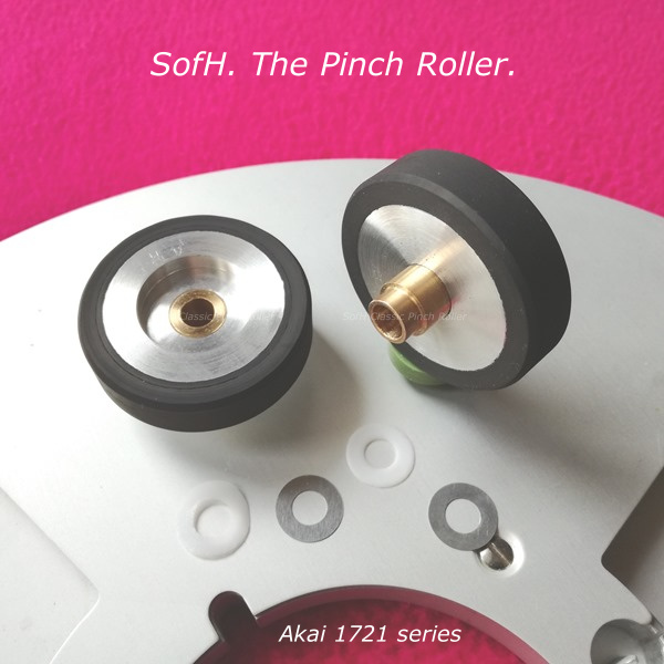 Akai 1721 series Pinch Roller