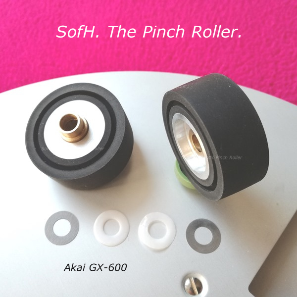 Akai GX-600 Pinch Rollers