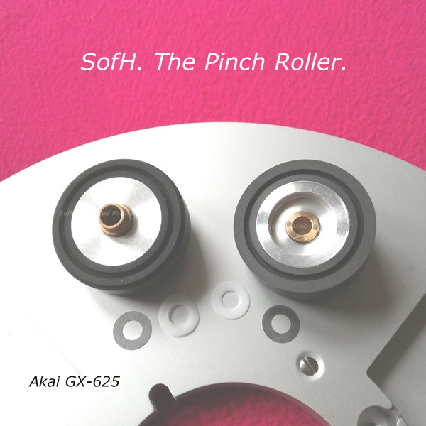 Akai GX-625 Pinch Roller