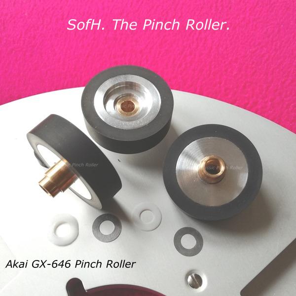 Akai GX-636 Pinch Roller