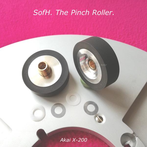Akai X-200 Pinch Roller