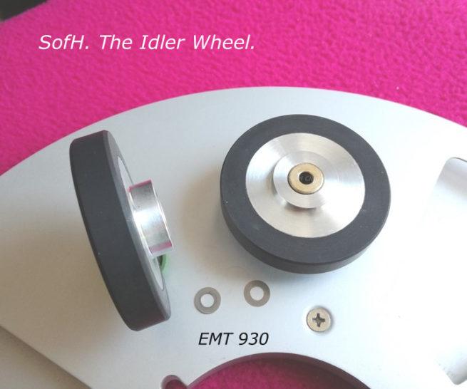 SofH EMT 930 Complete Idler Wheel