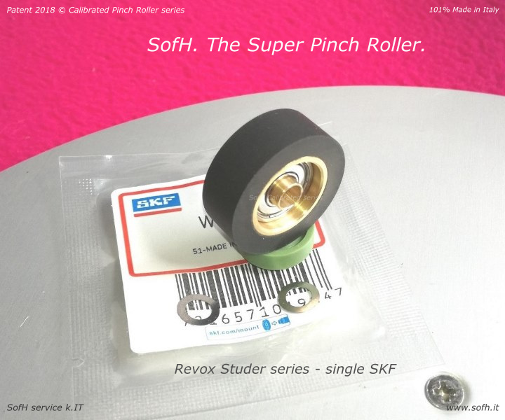Revox Studer single SKF Super Pinch Roller