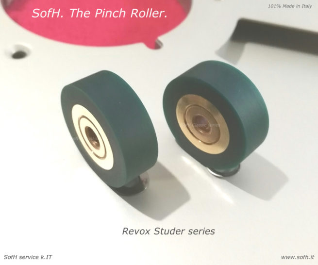 B77 Pinch Roller green Adp version