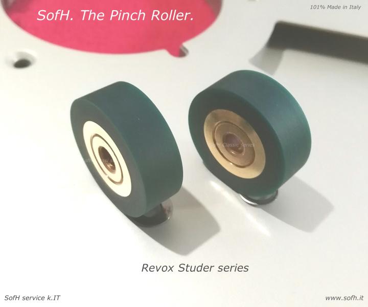 B77 Pinch Roller green Adp version