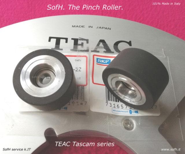 TEAC Tascam series Pinch Roller w/ original SKF