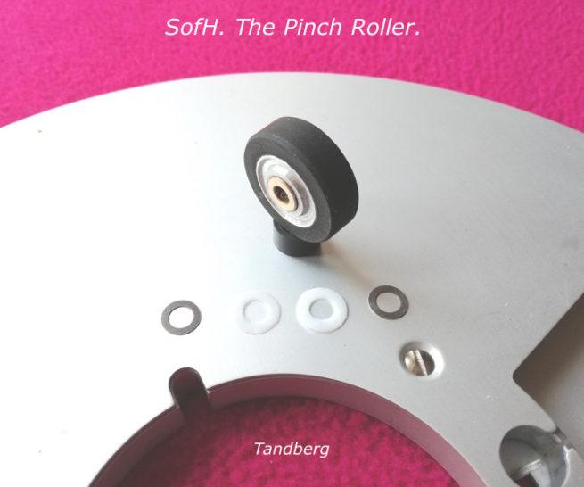 Tandberg d4 Pinch Roller