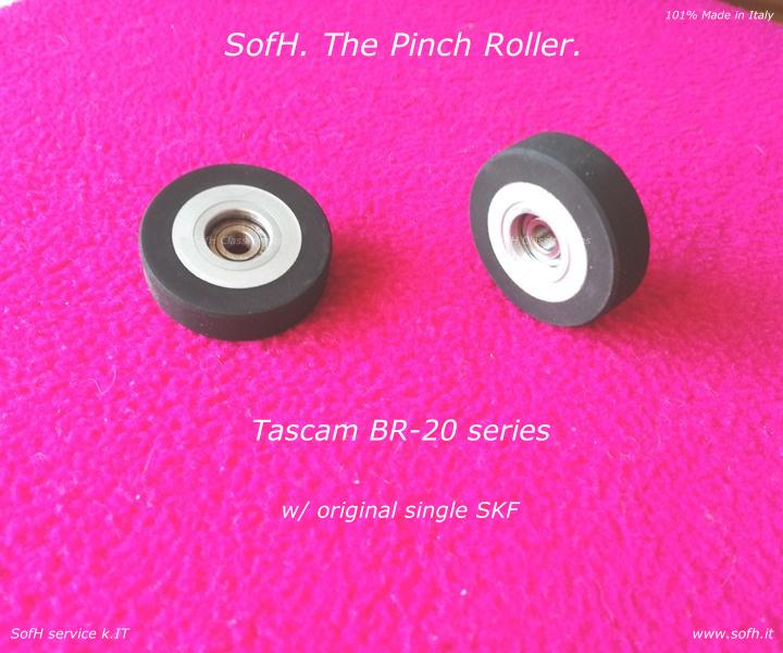 Tascam BR-20 series Pinch Roller
