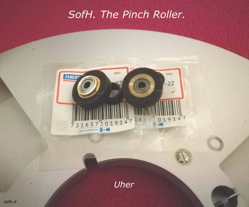 Uher Monitor series Pinch Roller