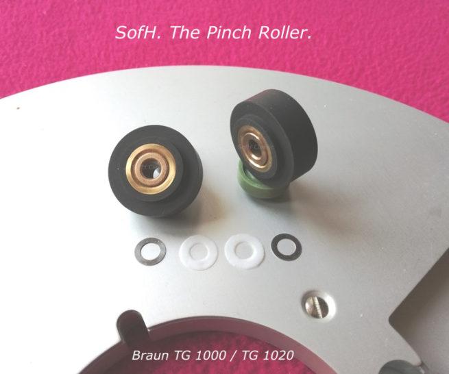 Braun TG 1000 TG 1020 Pinch Roller