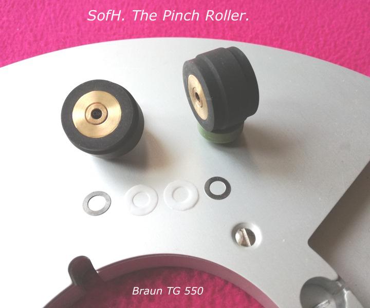 Braun TG 550 Pinch Roller