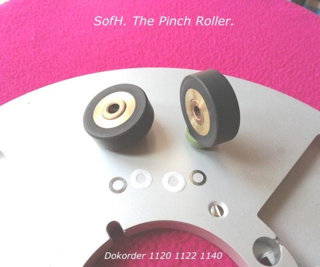 Dokorder 1120 1122 1140 Pinch Roller