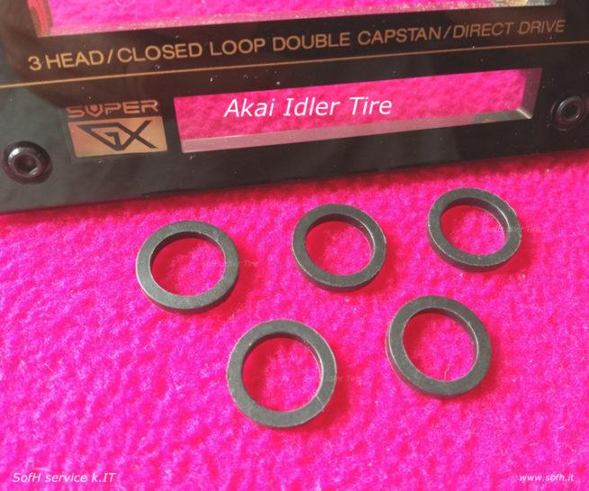 Akai GX-95 Idler Tire
