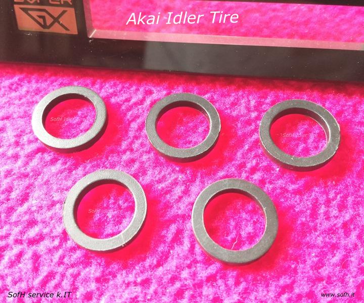 Akai GX-F91 Idler Tire
