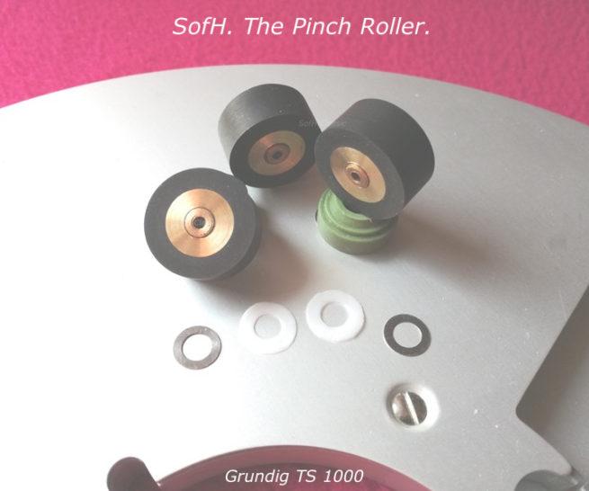 Grundig TS 1000 Pinch Roller