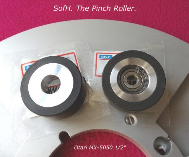 "Otari MX-5050 1/2"" Pinch Roller"