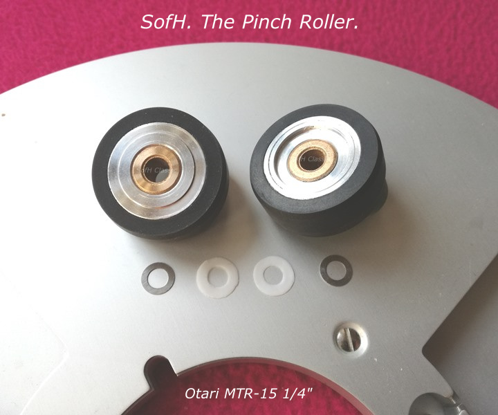 """Otari MTR-15 1/4"""" Pinch Roller"""