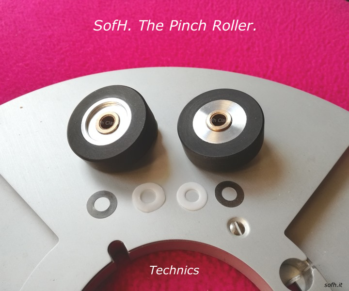 Technics RS- Pinch Rollers