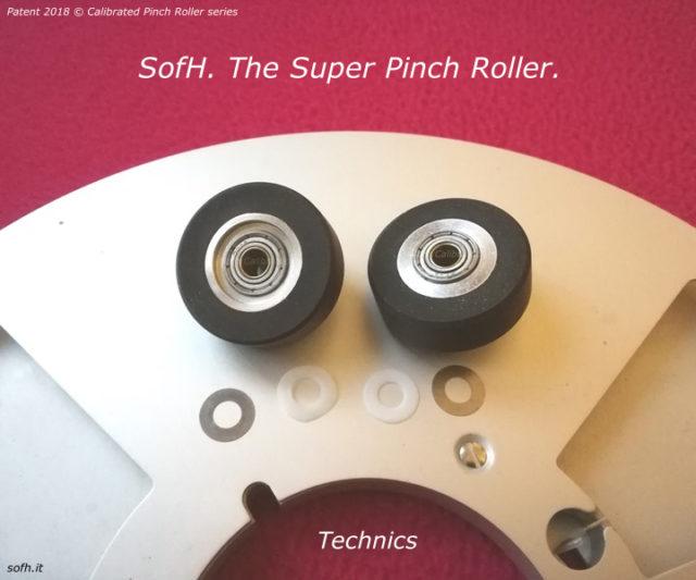 Technics RS-1500 Super Pinch Rollers