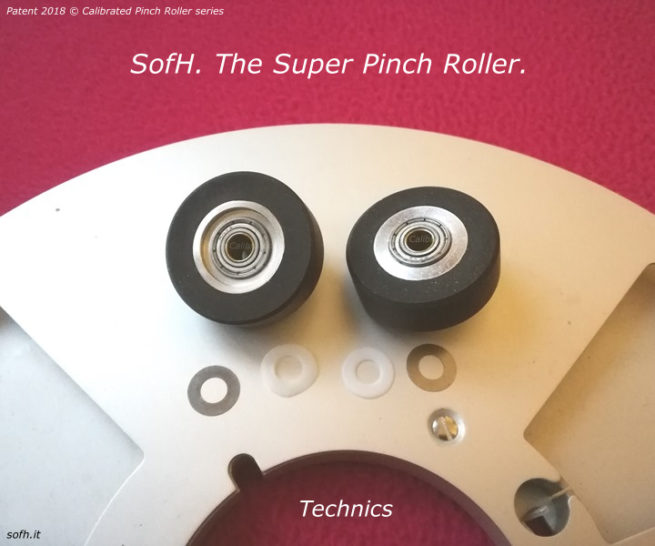 Technics RS-1500 Super Pinch Rollers