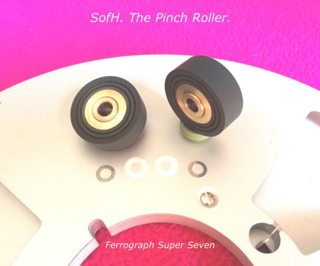 Ferrograph Super Seven Pinch Roller