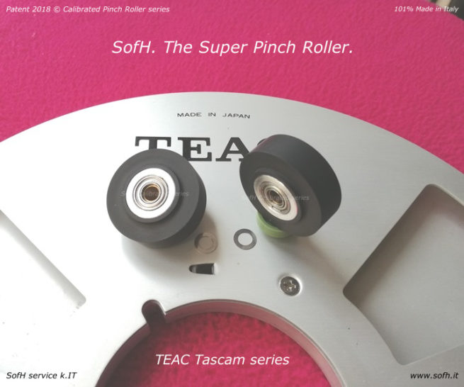 TEAC Tascam series Super Pinch Roller