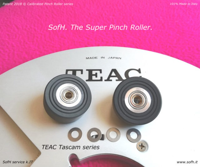 TEAC Tascam series Super Pinch Rollers