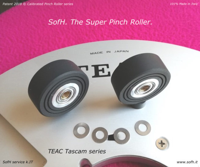 TEAC Tascam series Super Pinch Roller