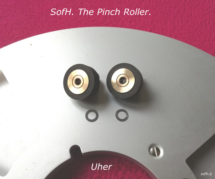 Uher Report Pinch Roller