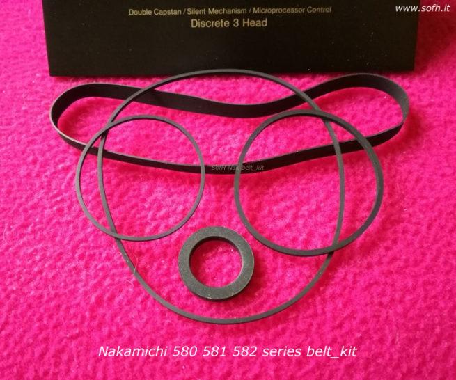 Nak 580 belt_kit