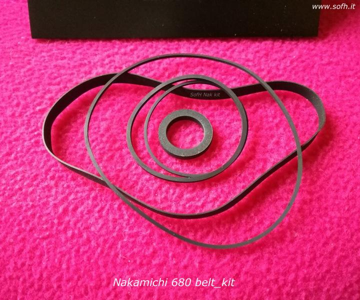 Nak 680 belt_kit