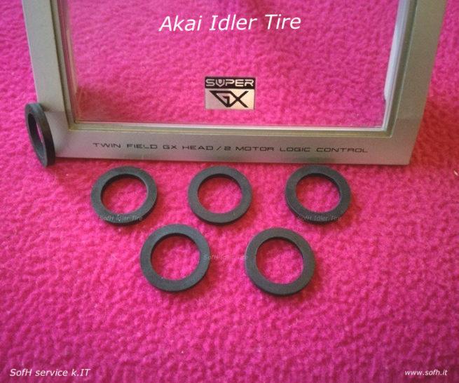 Akai GX-F90 Idler Tire