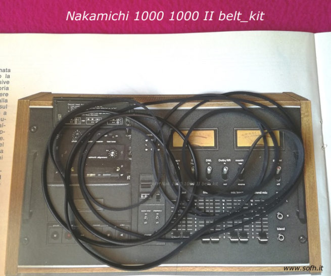 Nak 1000 belt_kit