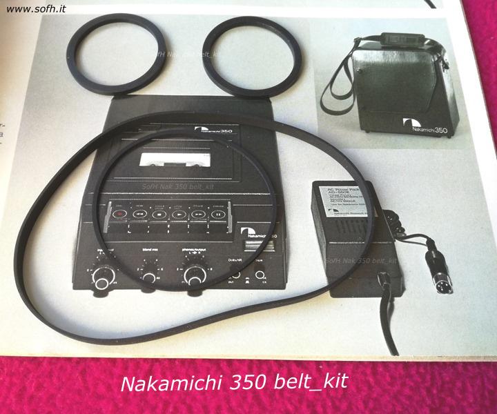 Nak 350 belt_kit