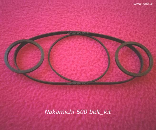 Nak 500 belt_kit