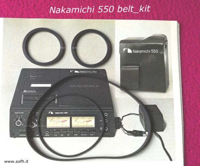 Nak 550 belt_kit