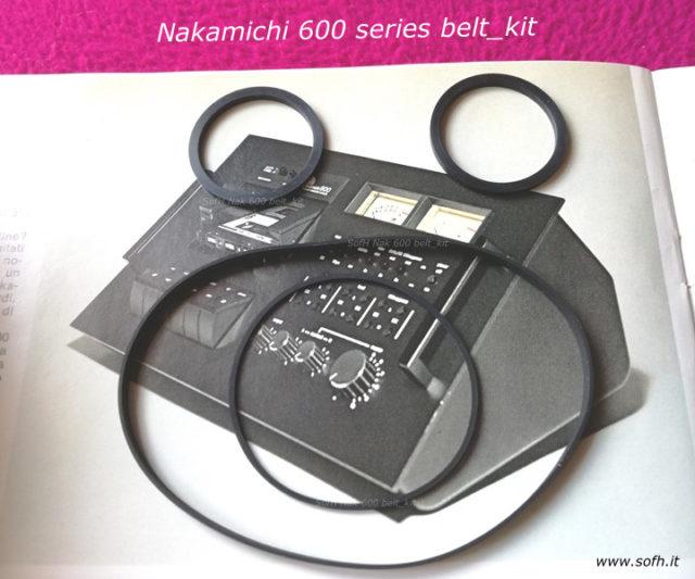 Nak 600 belt_kit