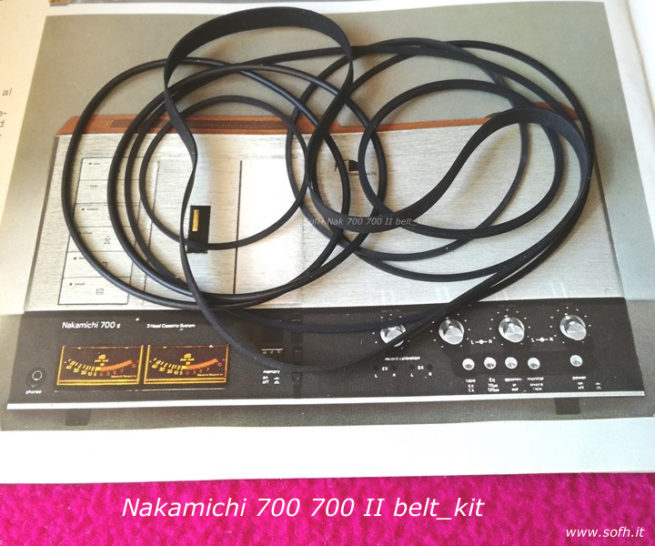 Nak 700 700 II belt_kit