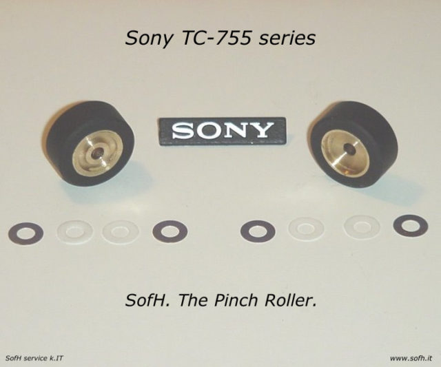 Sony TC-755 series Pinch Rollers