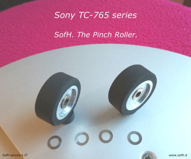 Sony TC-765 Pinch Rollers